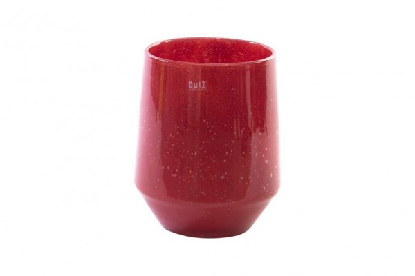 DutZ Vase Nita 1 - Red Bubbles